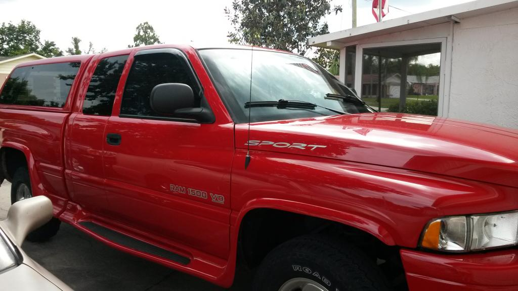 Car Paint Chip Repair >> 1999 Dodge Ram 1500 Paint Is Peeling: 7 Complaints