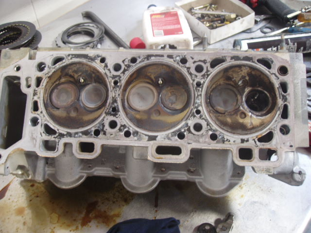 2005 Ford Explorer Sport Trac Broken Exhaust Valve