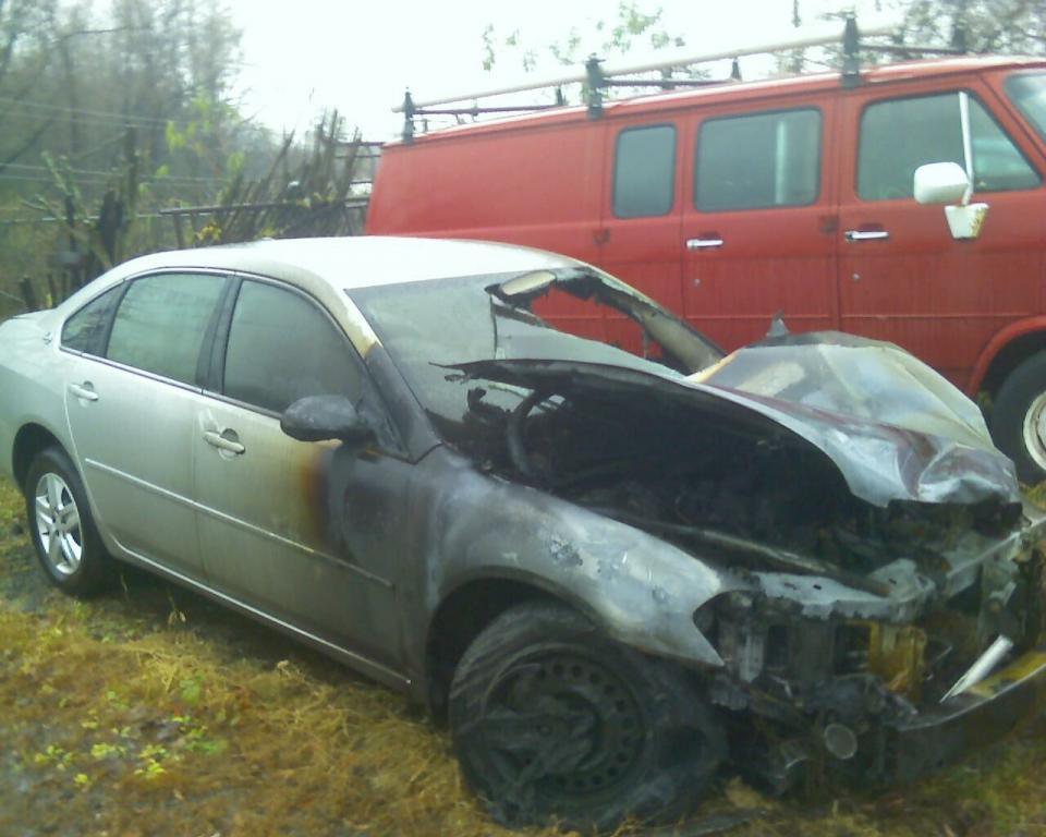2006 chevrolet impala engine caught fire and destroyed the car 1 complaints. Black Bedroom Furniture Sets. Home Design Ideas