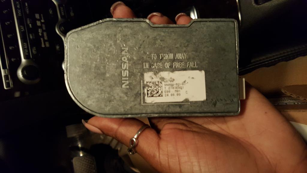 2010 Nissan Maxima Electronic Steering Control Lock ...