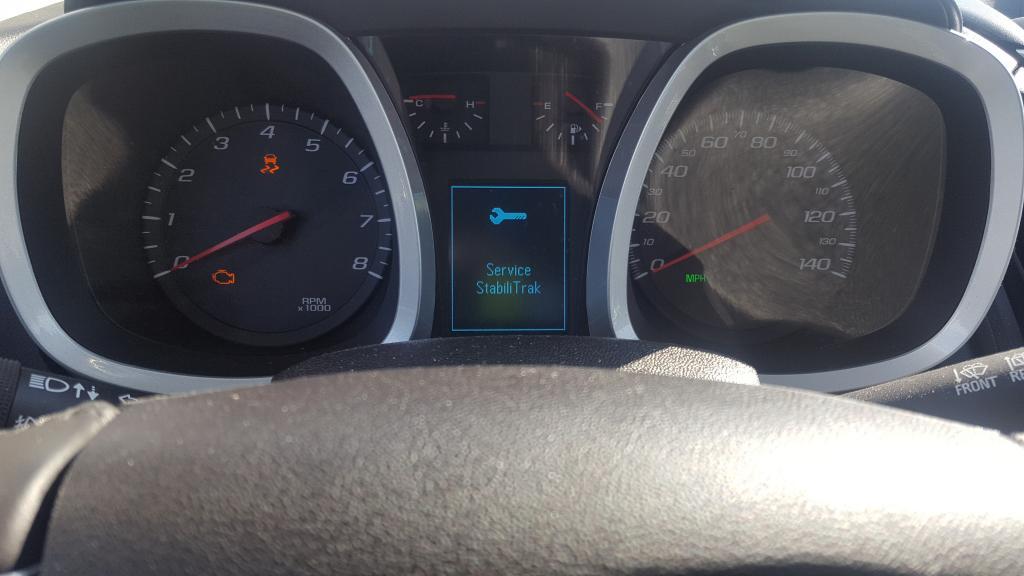 2015 Chevrolet Equinox Dash Cluster, Driver Controls Not ...