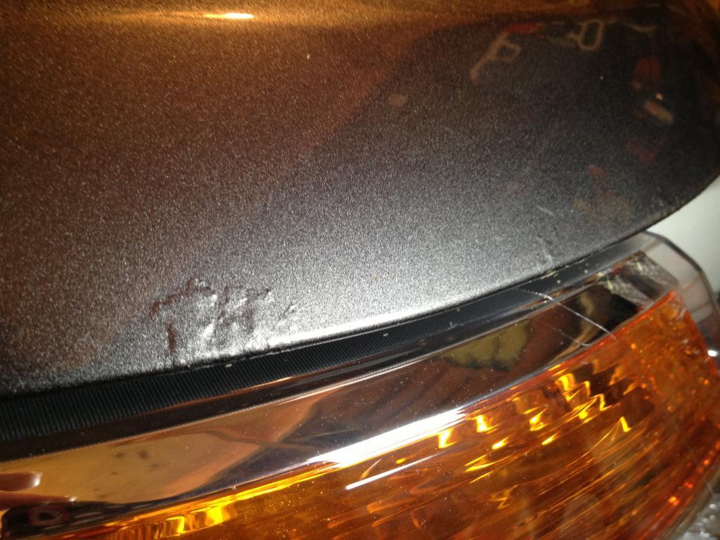2012 Ford Explorer Rust Bubbles On Hood 12 Complaints
