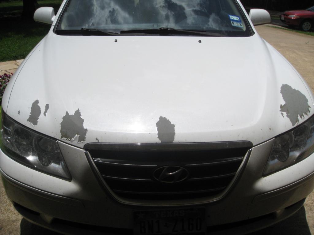 2009 Hyundai Sonata Paint Flaking Off 1 Complaints