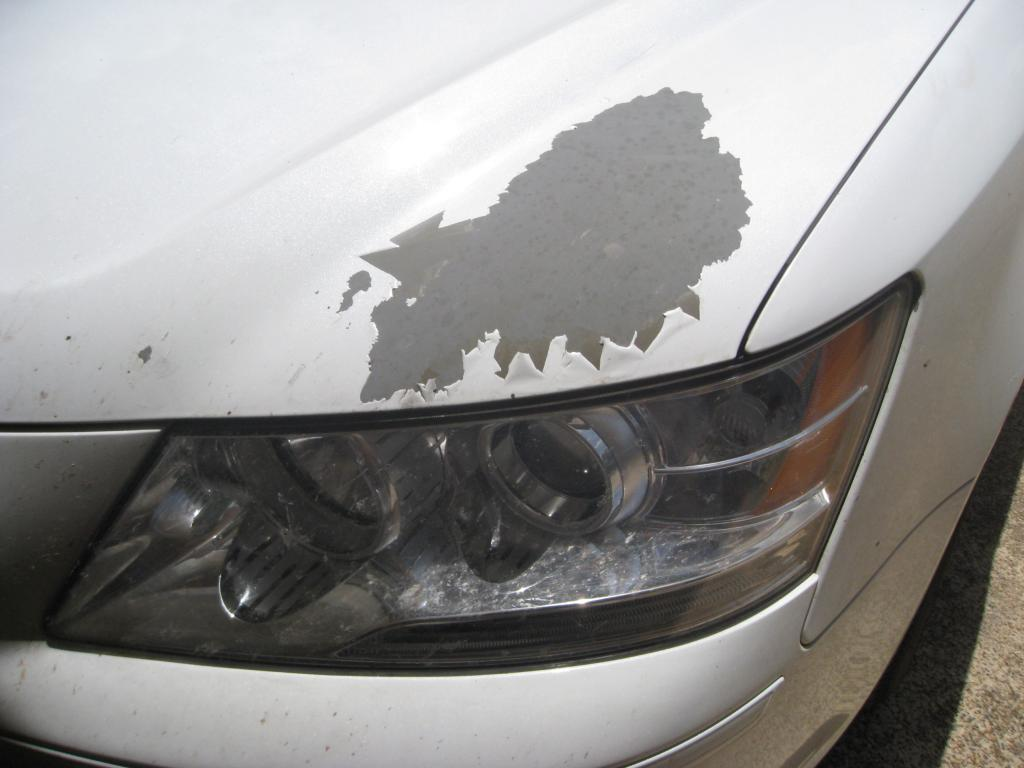 2009 hyundai sonata paint flaking off 8 complaints for Painted auto body parts reviews