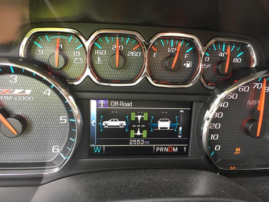 2016 Chevrolet Silverado 2500 Service Stabilitrak Message ...