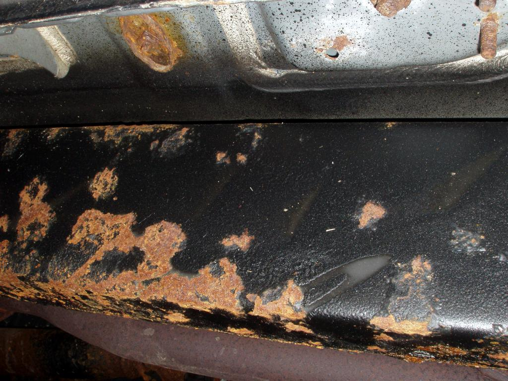 2001 Toyota Tacoma Failure Of Undercoating Applied As Part