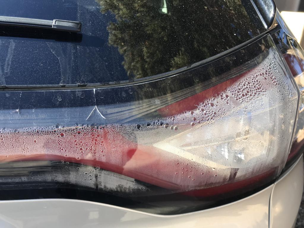 2015 Ford Edge Rear Lights Fogging And Condensation 3