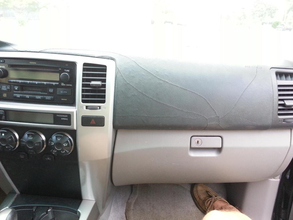 2005 Toyota 4runner Cracked Dashboard 18 Complaints