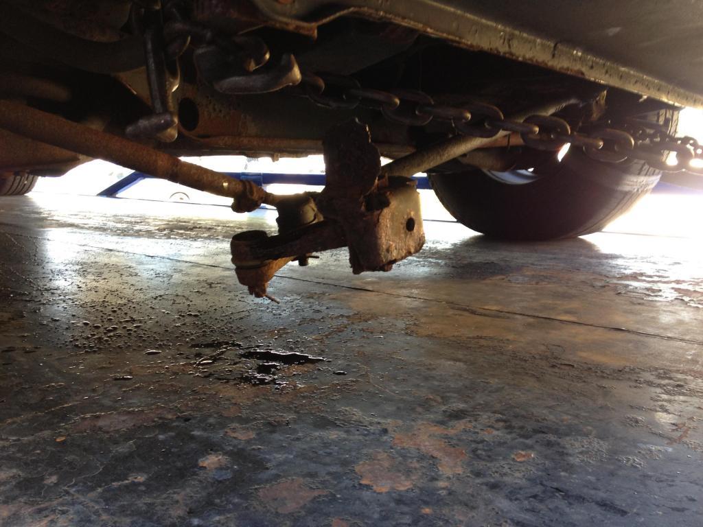 2002 Dodge Ram Van 1500 Frame Rusted And Broke Apart 1