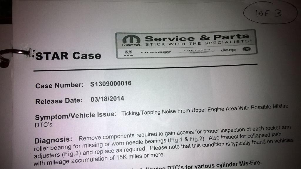 2012 Dodge Grand Caravan Popping Noise When Idling