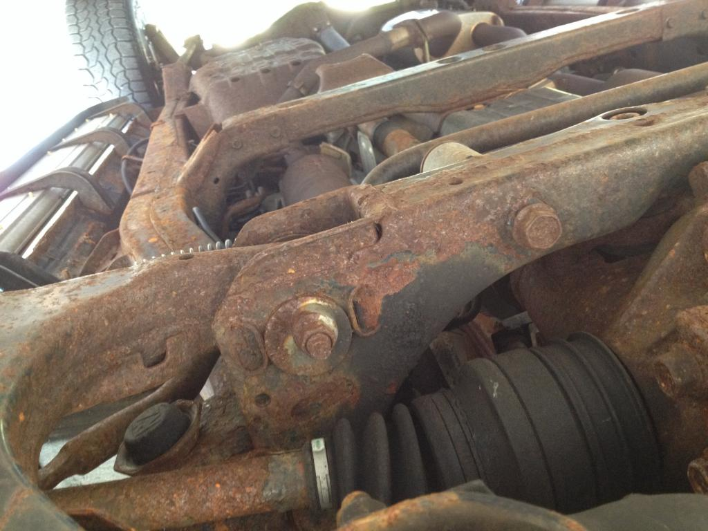 2002 Toyota Sequoia Rusted Frame: 2 Complaints