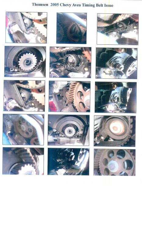 2005 Chevrolet Aveo Timing Belt Failure | CarComplaints com