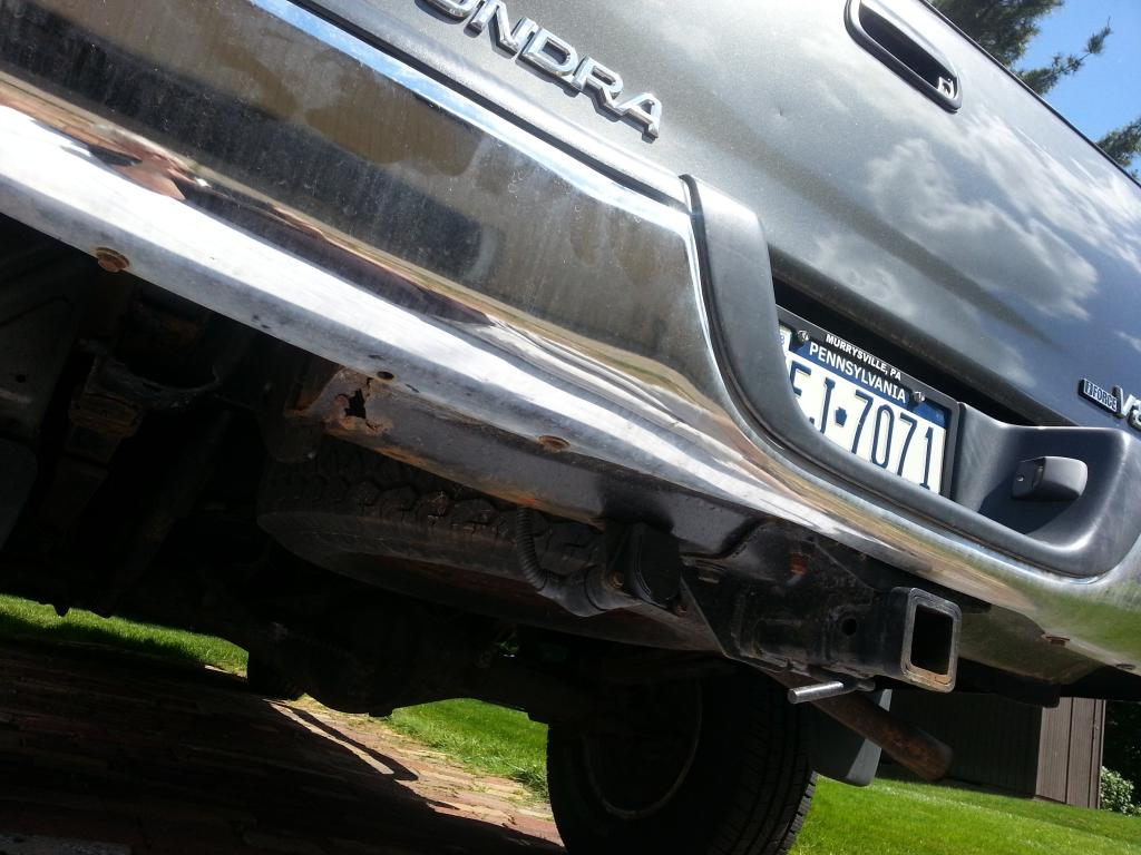 2004 Toyota Tundra Rusted Frame: 4 Complaints