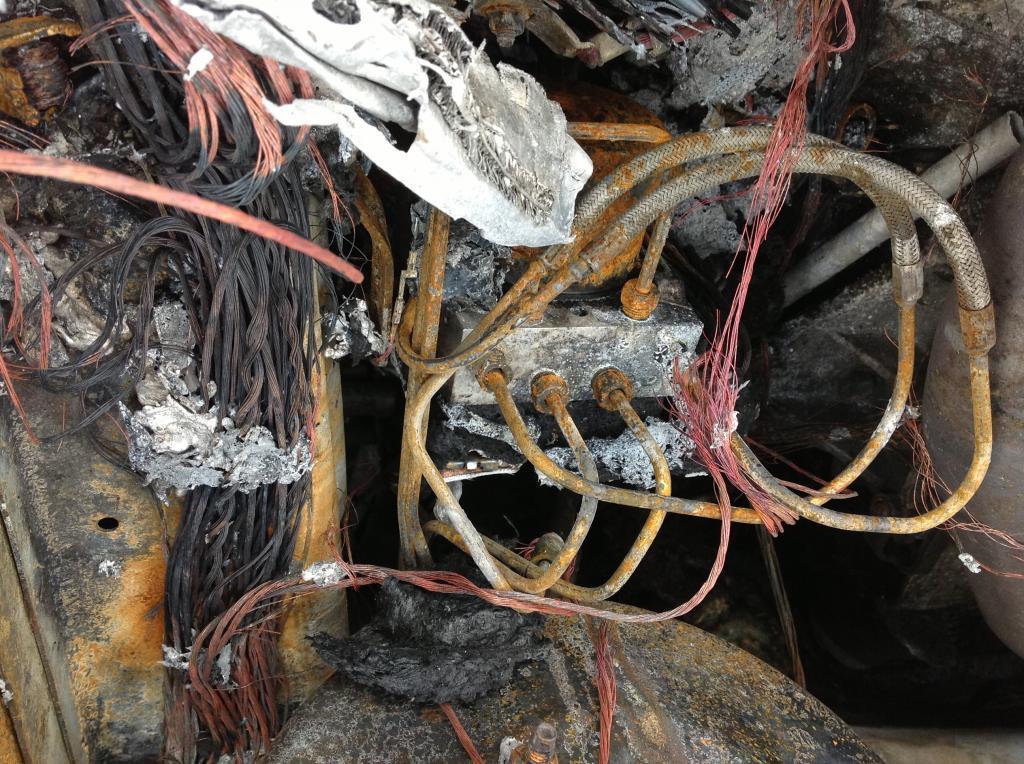 2007 Chrysler Pacifica Car Caught Fire Underhood
