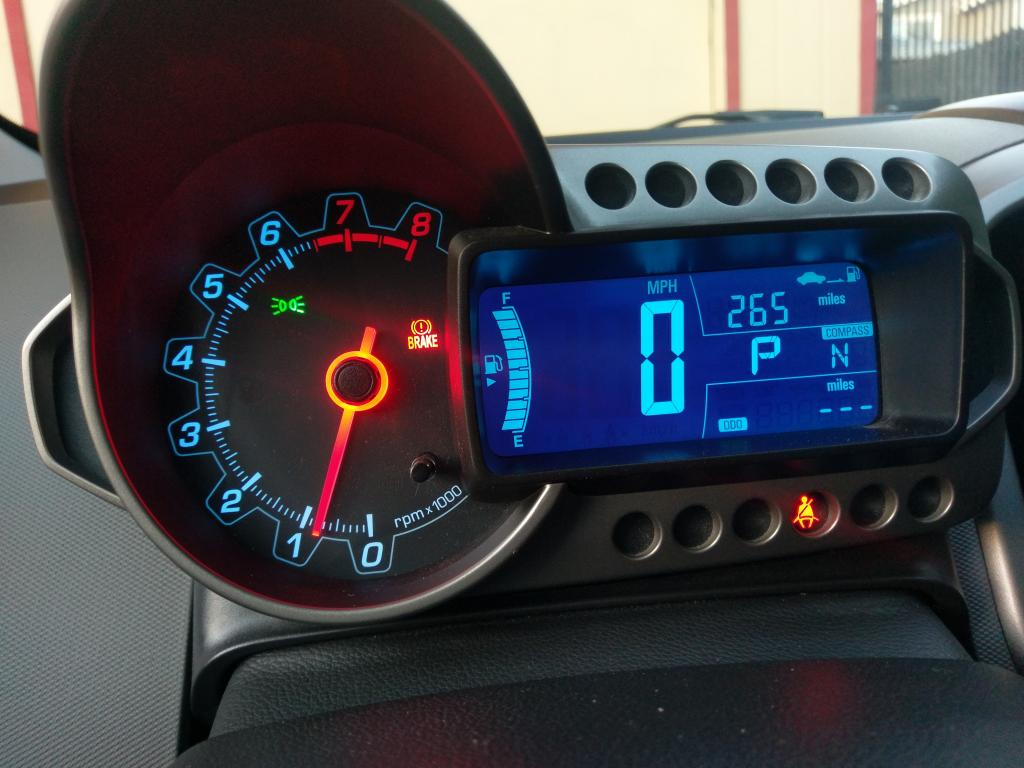 2013 Chevrolet Sonic Odometer Display Stopped Working