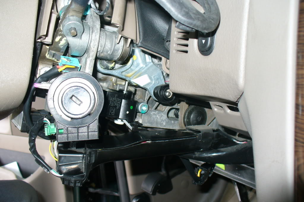 2002 Ford Explorer Steering Column Shifter