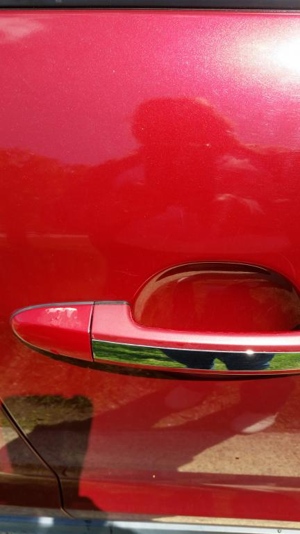 how to fix peeling top coat on car