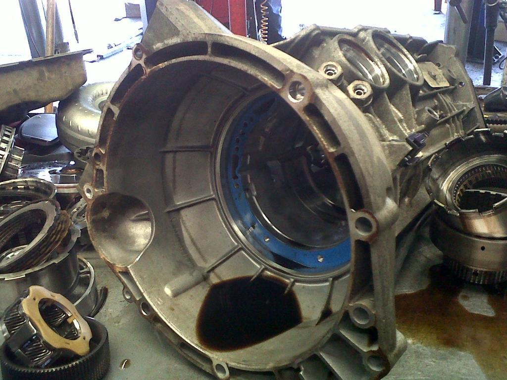 2003 ford f350 transmission slipping