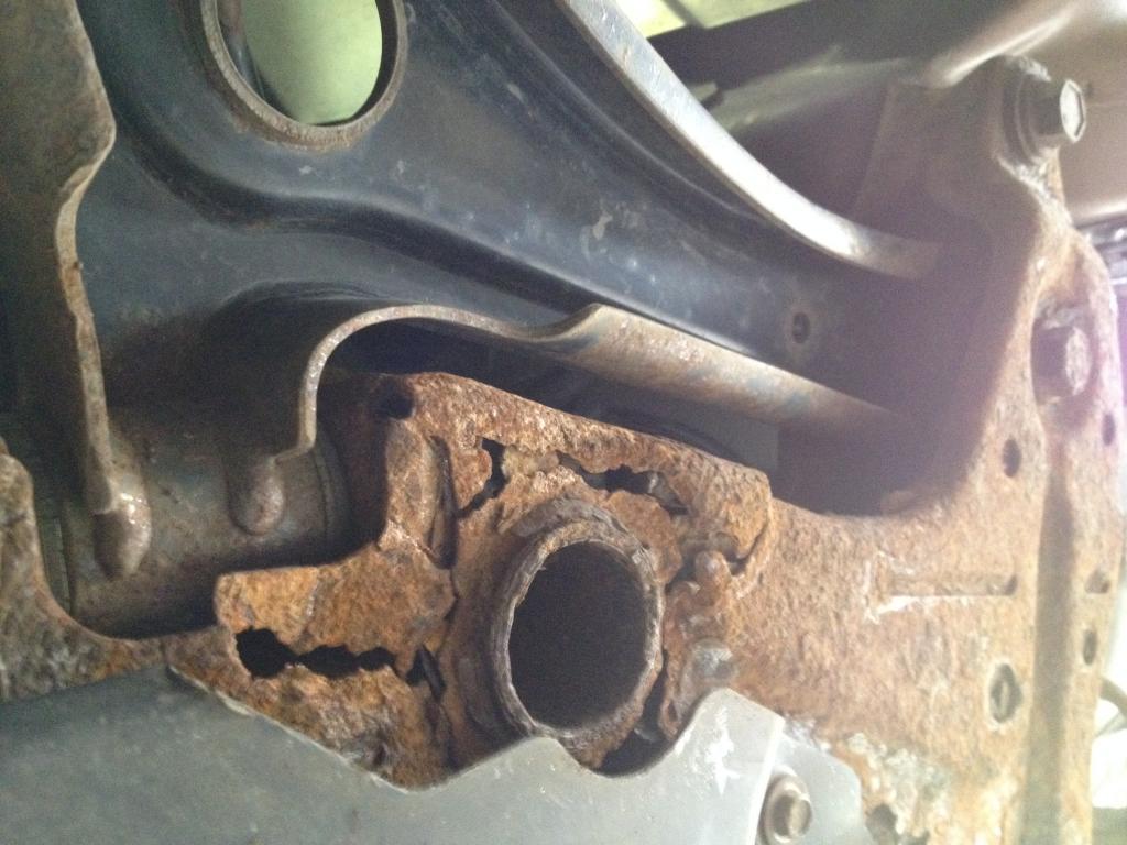 2011 Jeep Patriot Subframe Recall
