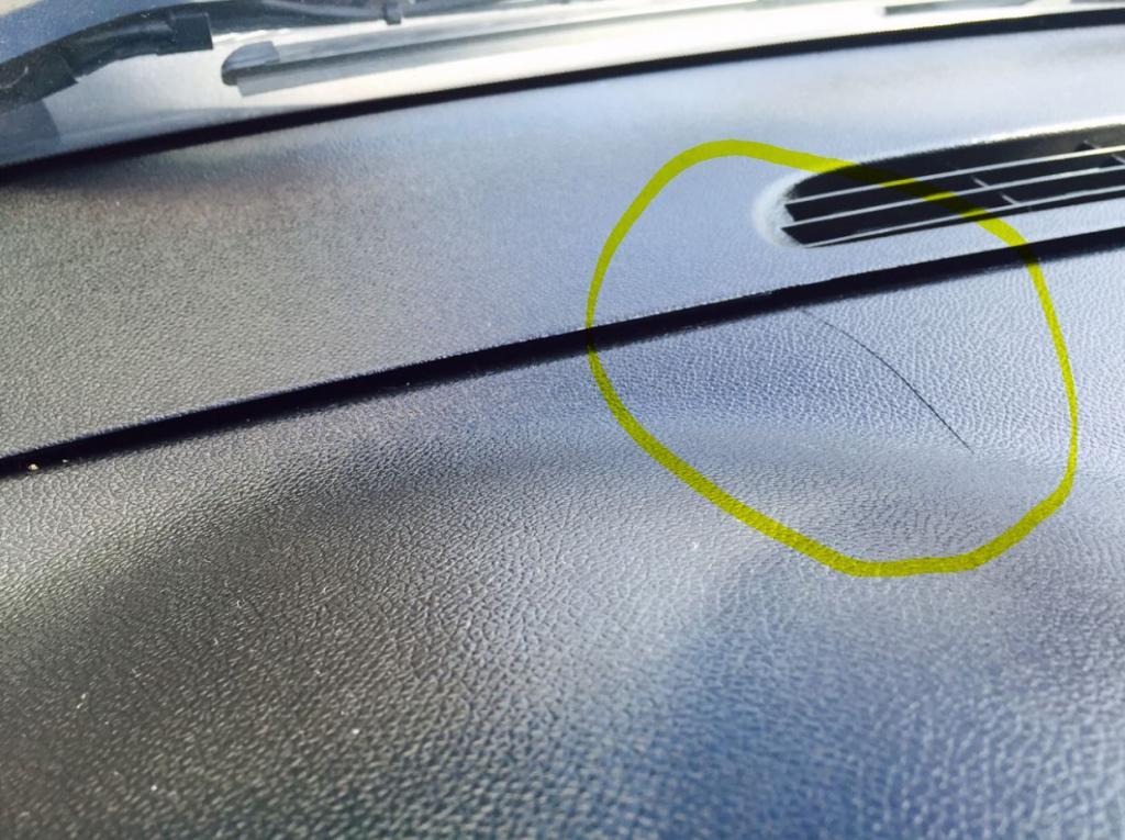 2011 GMC Sierra 1500 Cracked Dashboard: 7 Complaints