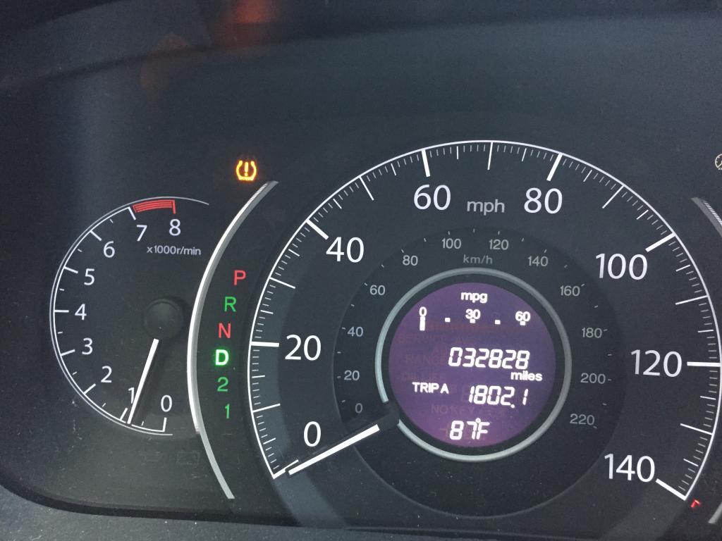 Change oil filter 2012 toyota sienna change free engine for Honda crv wrench light