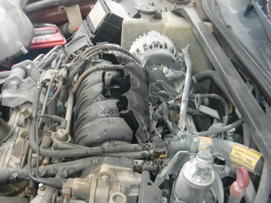 2000 Chevrolet Impala Explosion From Intake Manifold Area ...