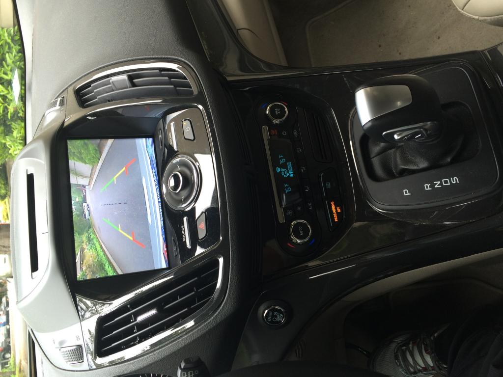 2016 Ford Escape Rear Camera Does Not Turn Off While Driving 2 Complaints