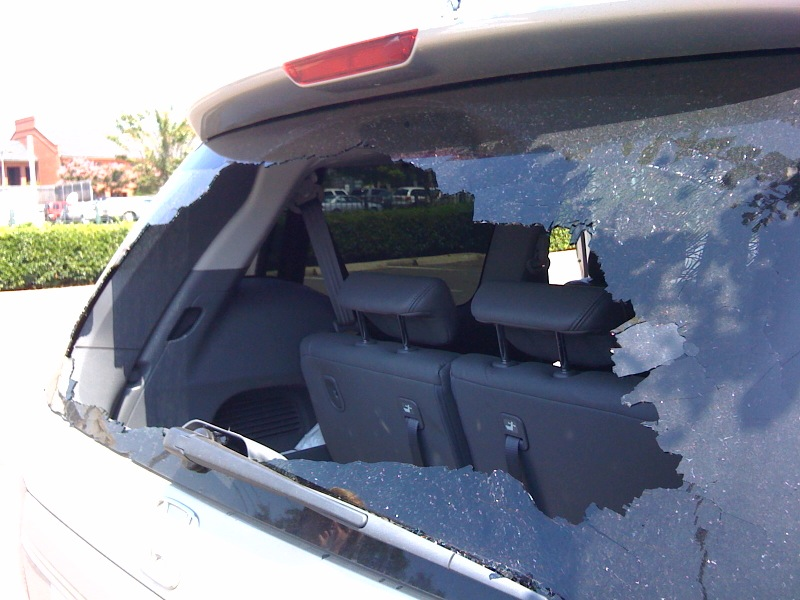 Windshield Shattered Windshield Shattered Windshield Shattered. My Honda  Odyssey ...