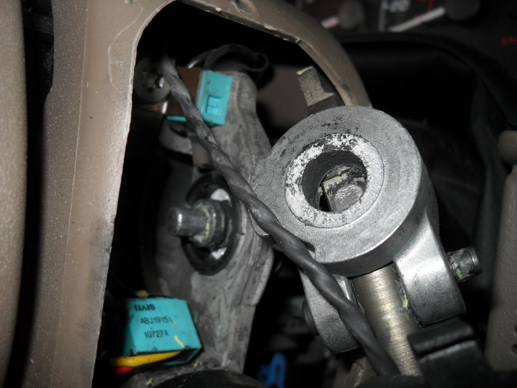 2002 Ford Explorer Gear Shift Lever Fell Off 163