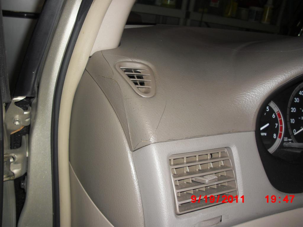 2004 Toyota Sienna Dashboard Cracking 35 Complaints Page 2