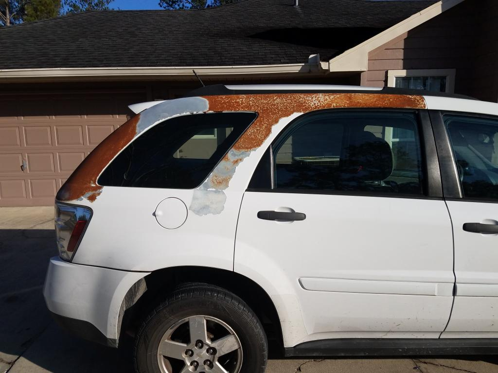 2009 Chevrolet Equinox Paint Coming Off: 3 Complaints