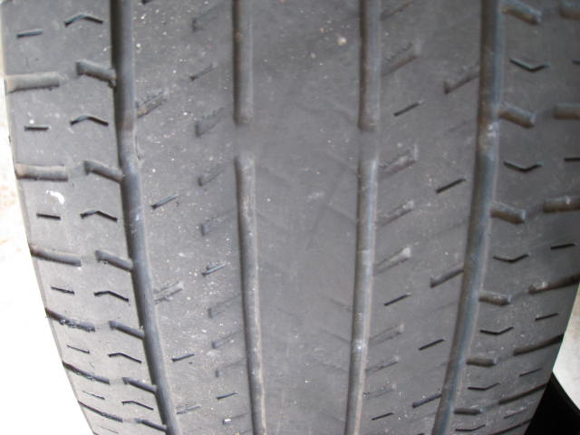 Tire Tread Wear >> 2010 Chrysler Town & Country Premature Tire Wear: 1 Complaints