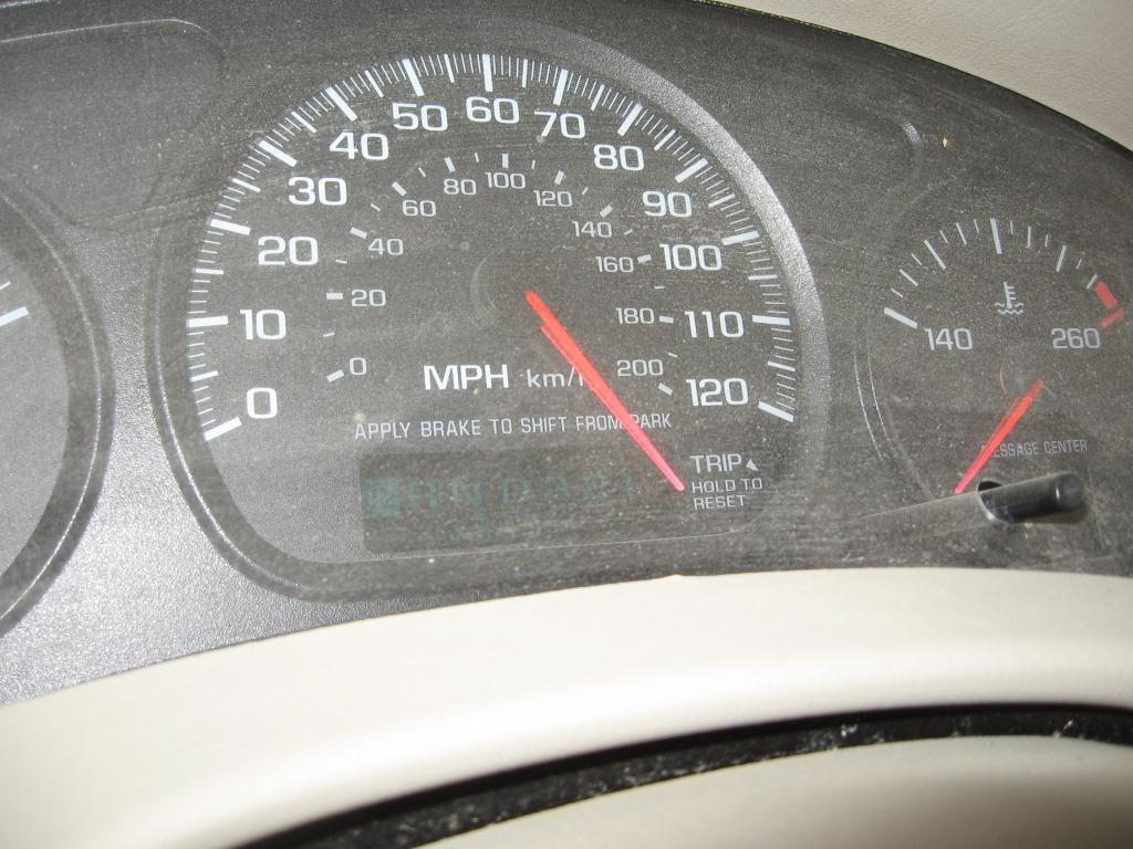 2005 Chevrolet Impala Speedometer Malfunctioning 40 Complaints 2001 Chevy Power Window Wiring Diagram
