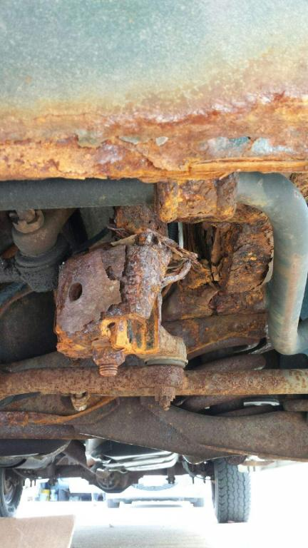 Fix My Car >> 2003 Dodge Ram Van 1500 Rusted From Frame To Steering Linkage: 2 Complaints