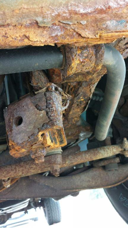 2003 Dodge Ram Van 1500 Rusted From Frame To Steering