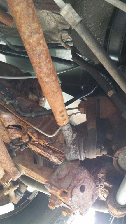 2003 Dodge Ram Van 1500 Rusted From Frame To Steering ...