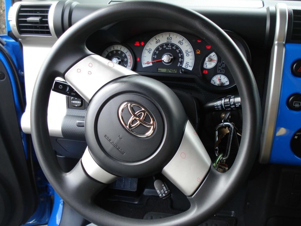 Sell Car Online >> 2007 Toyota FJ Cruiser Steering Wheel Discolored: 1 Complaints