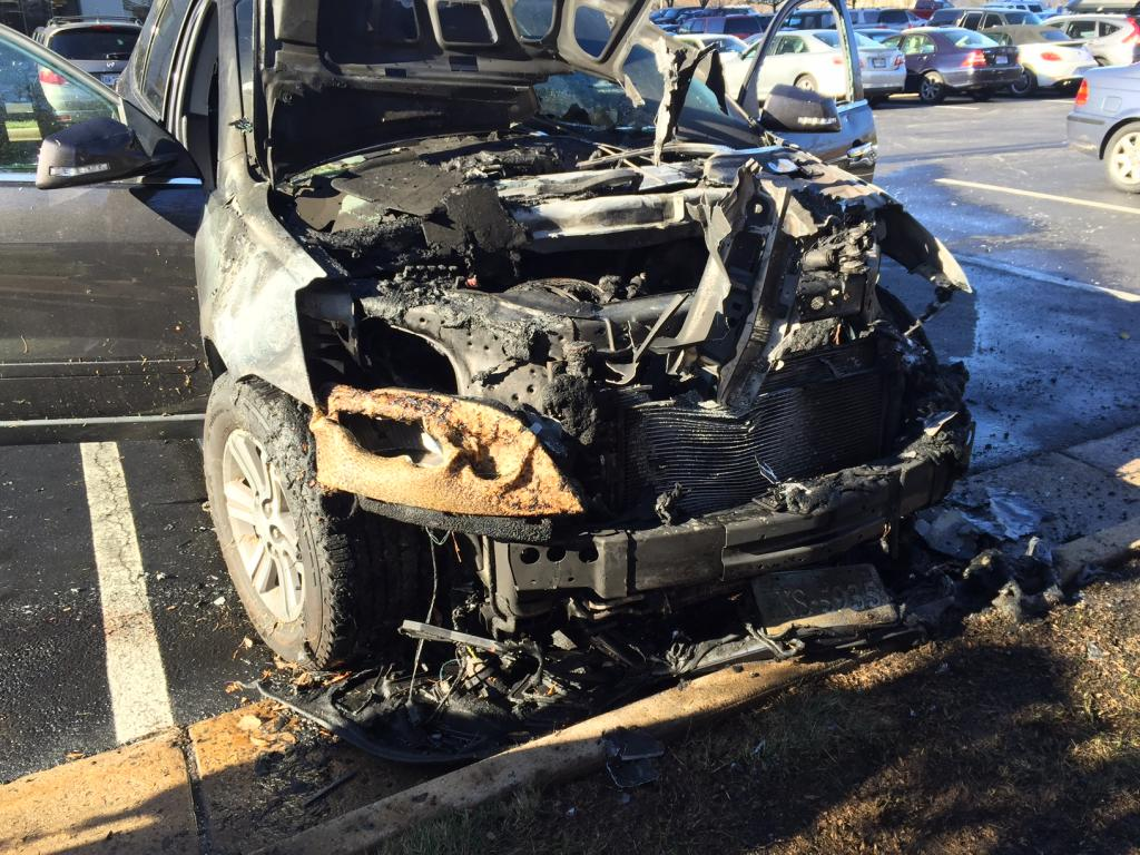 2015 Chevrolet Traverse Car Caught On Fire While Parked