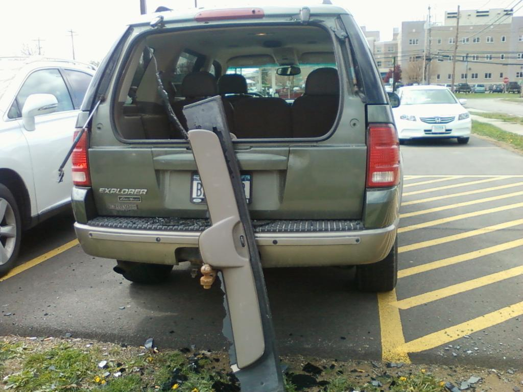 2002 ford explorer rear lift gate window exploded 76 for 2002 ford explorer rear window struts