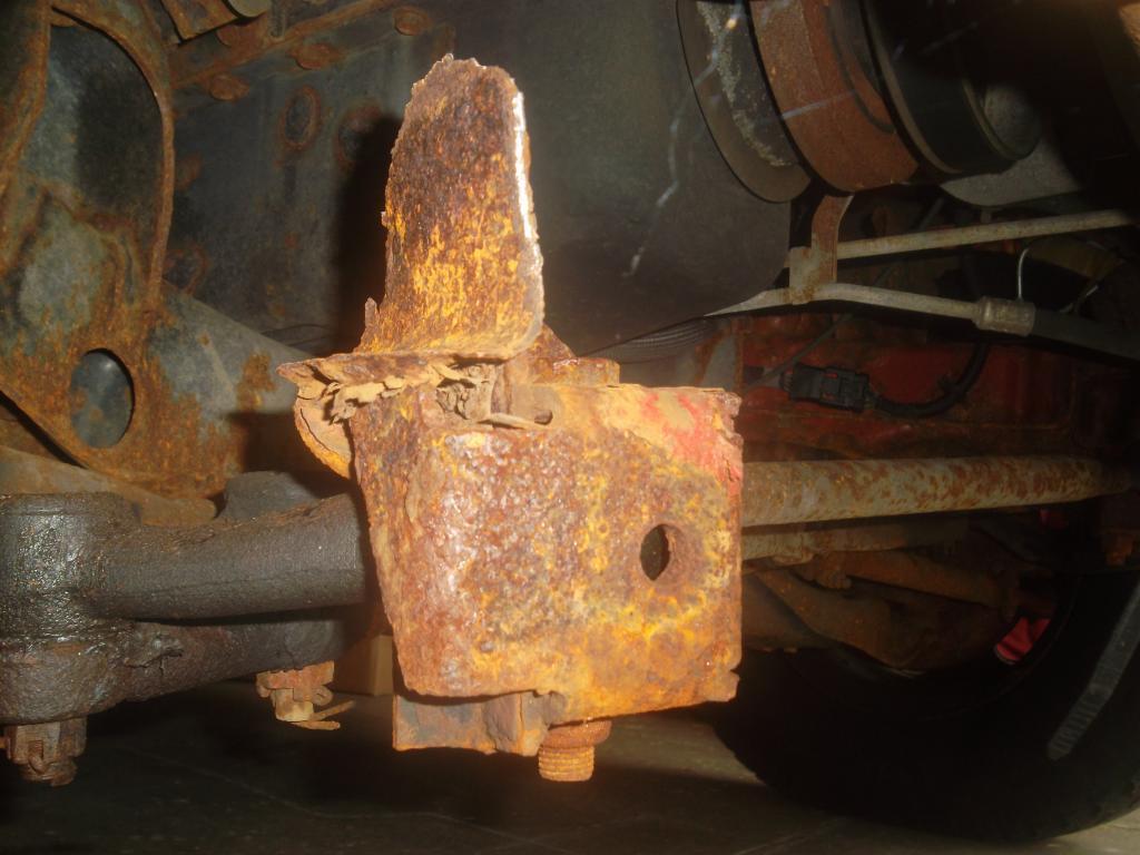 2002 Dodge Ram Van 1500 Excessive Frame Rust 4 Complaints