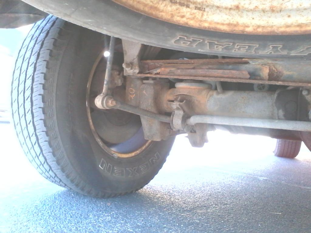 2001 Ford Expedition Suspension Rust Wear And Failure 5