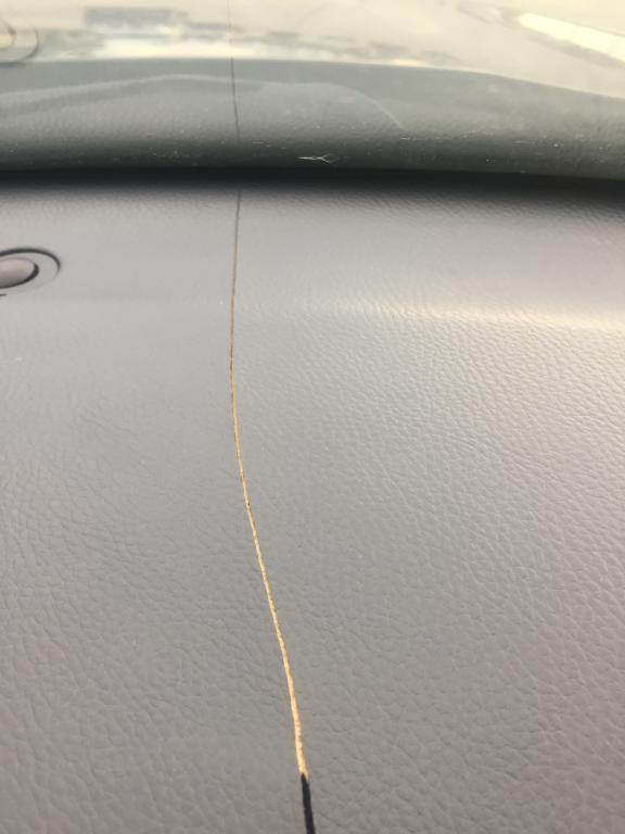 Acura TL Cracked Dashboard Complaints - 2004 acura tl cracked dashboard