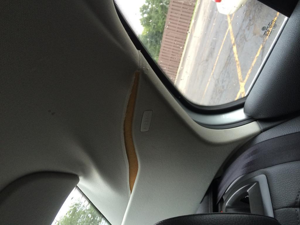 2006 Volkswagen Jetta Headliner Separating From Ceiling