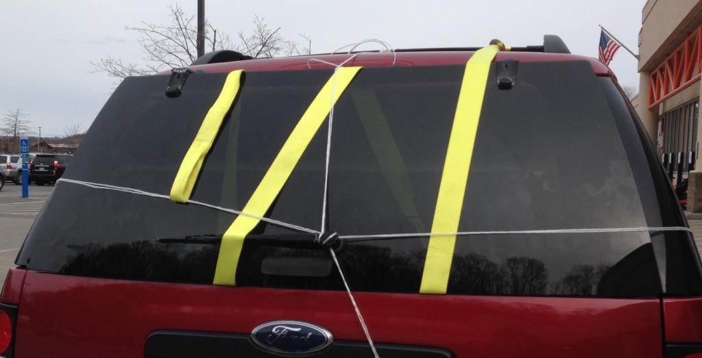 Rear Window Hinges Broken