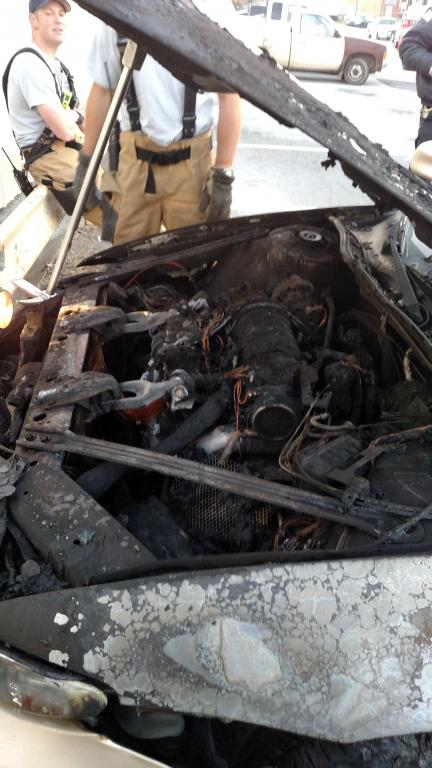 2002 Pontiac Grand Prix Engine Caught On Fire 7 Complaints