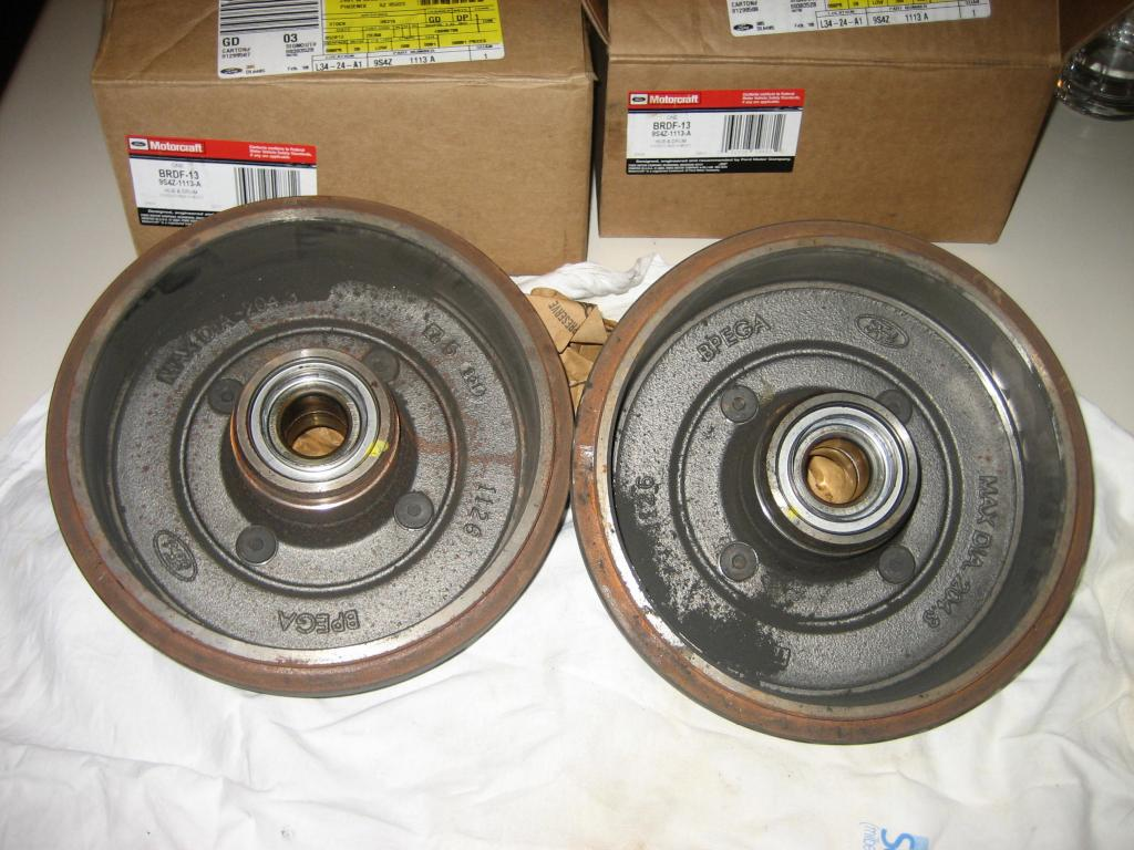 wheel bearing went out