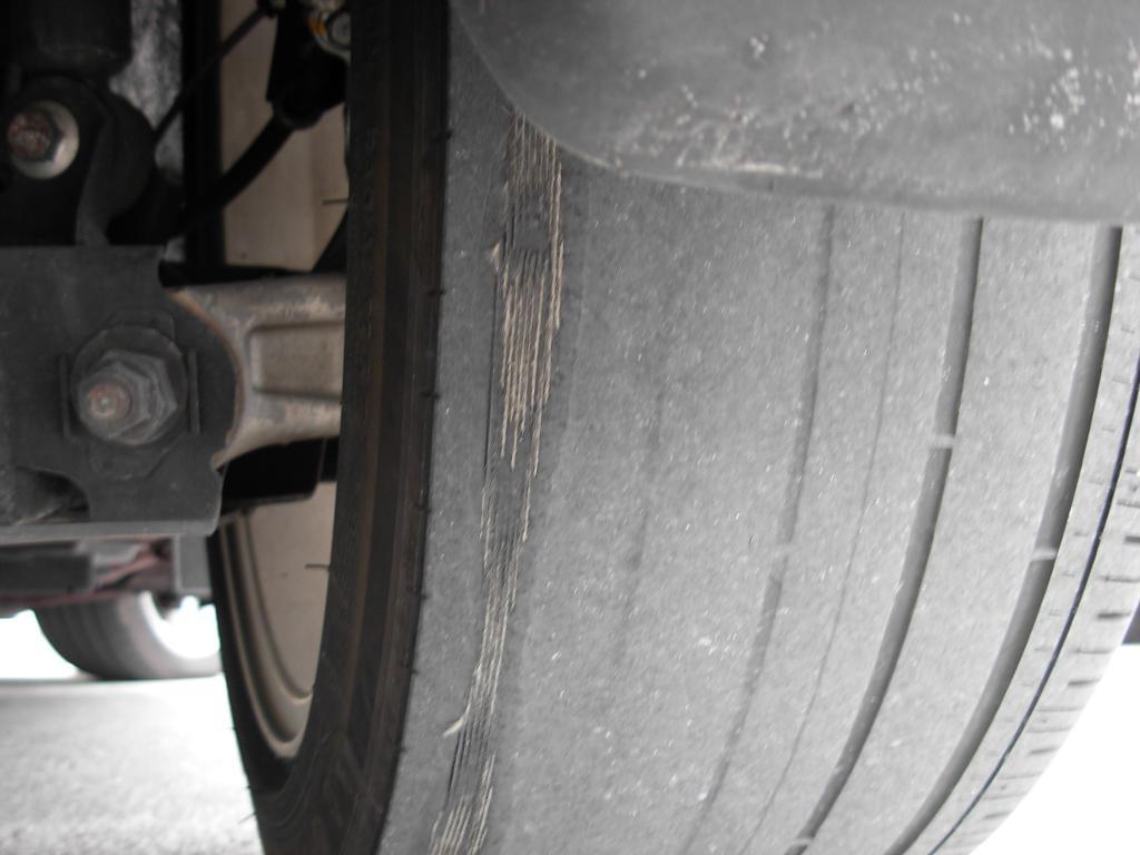 2007 Honda Civic Excessive  Uneven Tire Wear  169