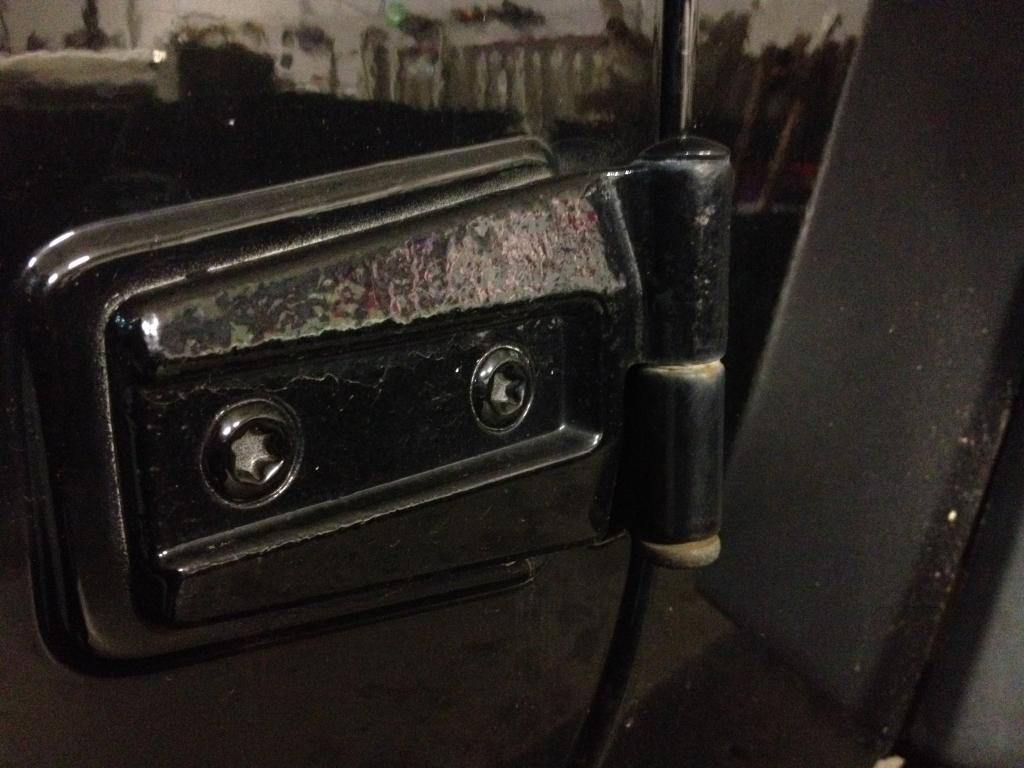 2007 Jeep Wrangler Rust On Door Hinges 3 Complaints