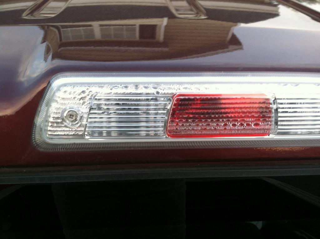 2010 Ford F 150 3rd Brake Light Cargo Light Leaks 12