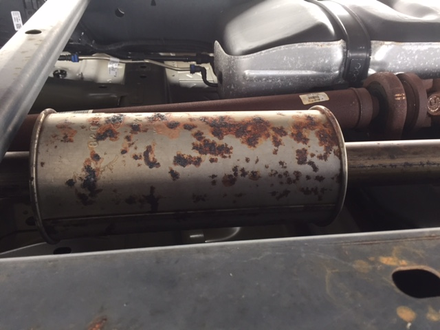 2015 Ford F-150 Rust: 4 Complaints